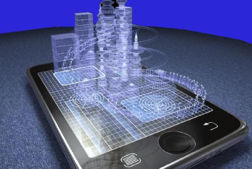 Smartphone dengan Layar Hologram
