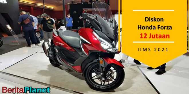 Diskon Honda Forza 12 Jutaan