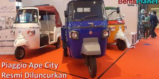 Menjajal Piaggio Ape City, Motor Roda Tiga Mirip Bajaj