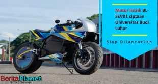 Motor listrik BL-SEV01 ciptaan Universitas Budi Luhur di luncurkan Tahun ini