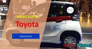 Toyota Memamerkan Kendaraan Listrik Mungil di IIMS 2021