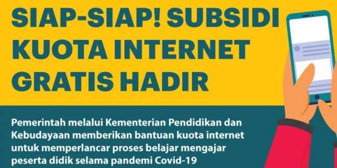 Subsidi Kuota Internet 2021