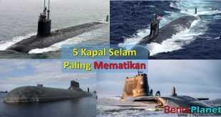 5 Kapal Selam Paling Mematikan di Dunia