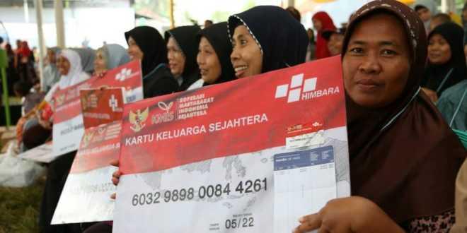 Adapun bantuan yang diberikan seperti penyaluran bantuan pangan non tunai atau disingkat dengan BPNT untuk masyarakat KPM.