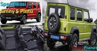 Spesifikasi Suzuki Jimny 5-Pintu